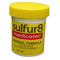 Sulfur 8 Medicated Anti-Dandruff Hair And Scalp Conditioner, Original Formula - 4 Oz