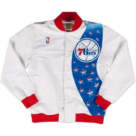 Philadelphia 76ers Mitchell & Ness NBA Authentic 93-94 Warmup Premium Jacket