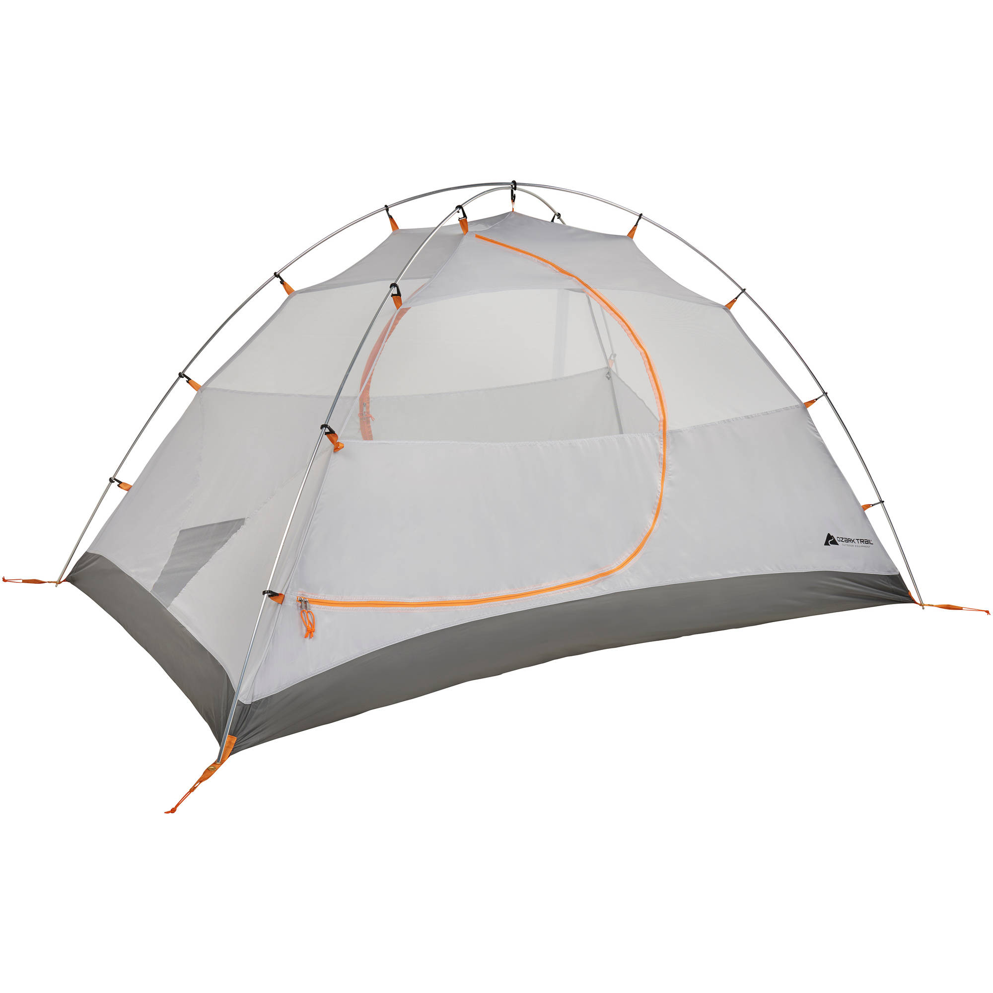 Ozark Trail Backpacking Tent with Vestibules, Sleeps 2