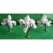 """Wee Scapes Trees, 2.5"""" to 3"""", 3/Pkg., Cherry"""
