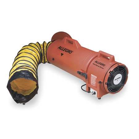 Allegro 9536-15  Axial Confined Space Fan, 15 ft. Duct Confined Space Ventilation Equipment