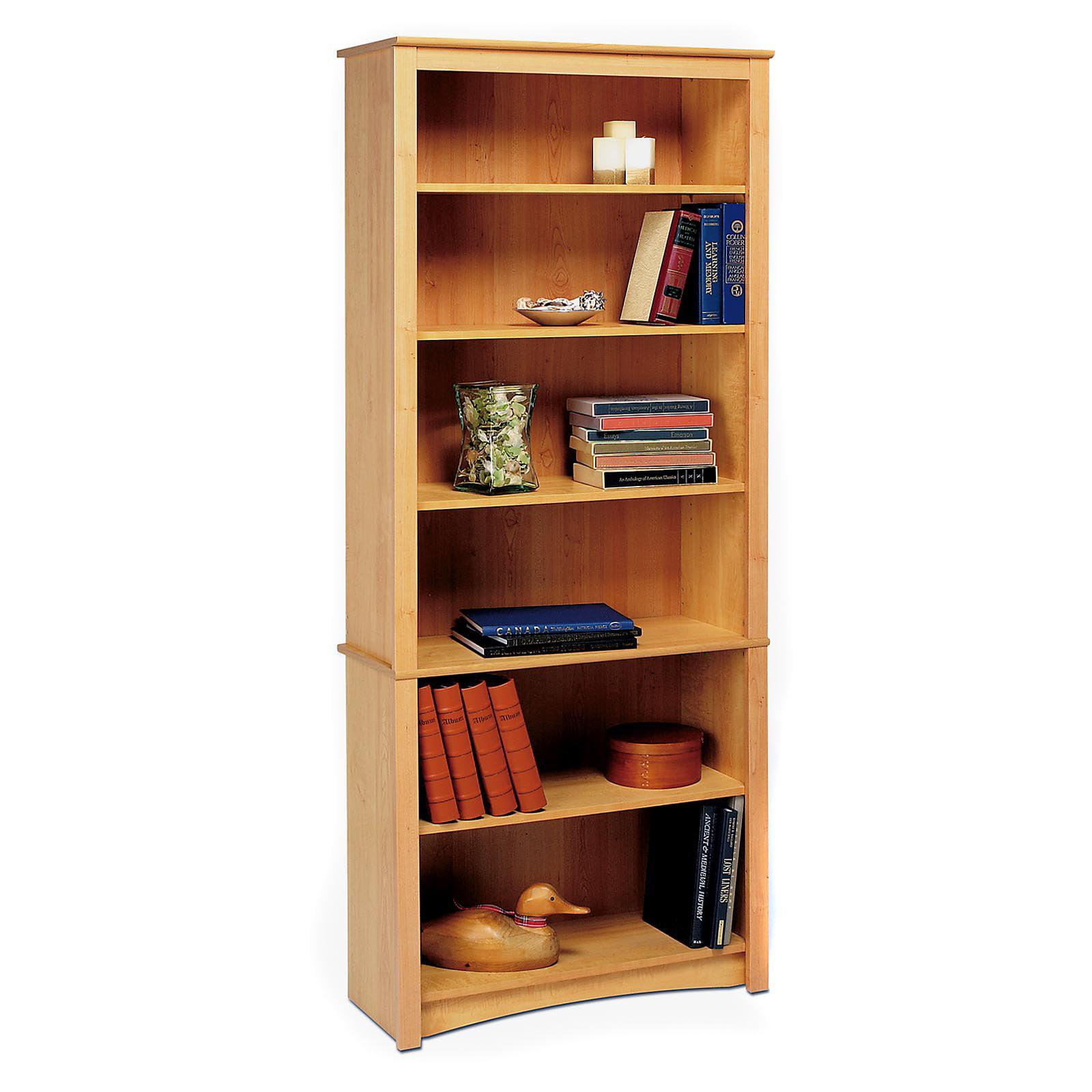 Prepac 6 shelf bookcase espresso walmart com