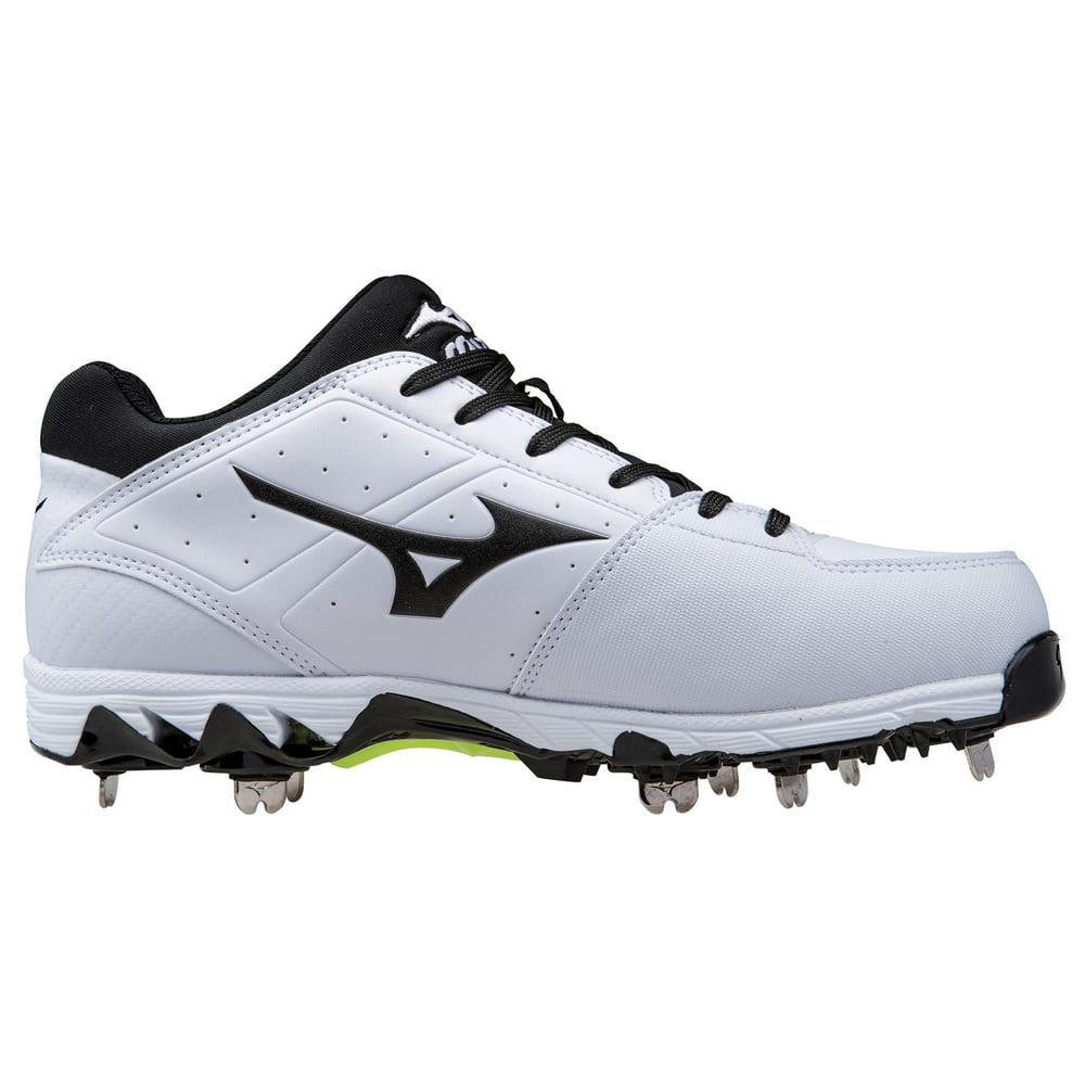 9af277ba9d91 new mizuno softball cleats Mizuno 9-Spike Swift 4 Metal Fastpitch Softball  Cleat - White/Black .