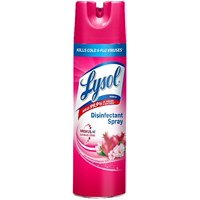 Lysol Disinfectant Spray, Cherry Blossom & Pomegranate Scent, 19 Ounce (Pack of 10)