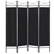 Best Choice Products Home Accents 4 Panel Room Divider Black