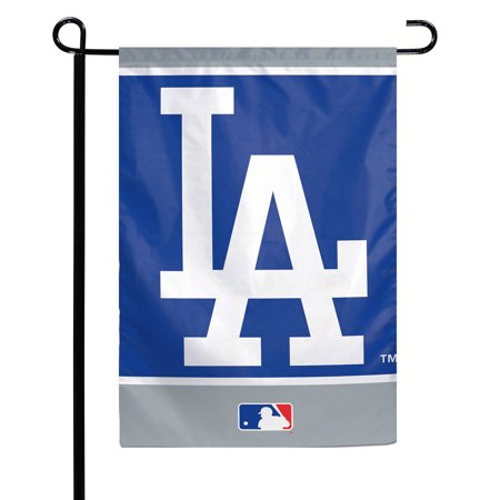 Los Angeles Lakers Car Flag - Los Angeles Dodgers WinCraft 12