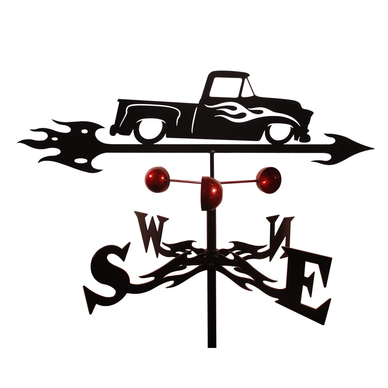 SWEN Products Handmade Chevy Truck Auto Car Steel Weathervane by Overstock