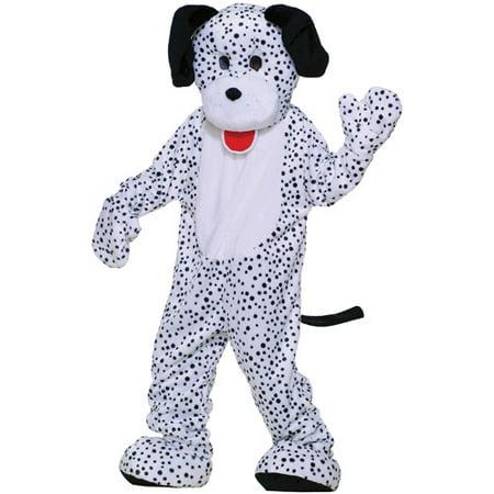 Dalmatian Mascot Adult Halloween Costume, Size: Men's - One Size