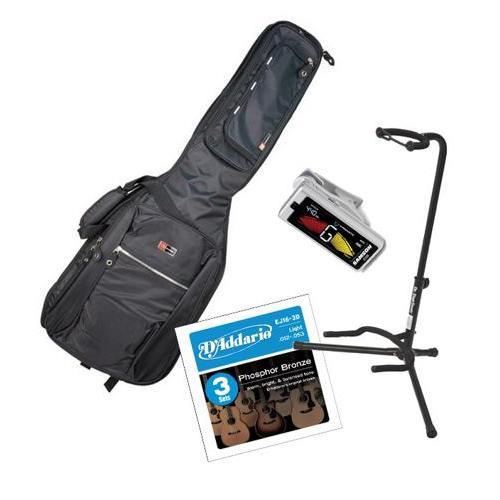 Crossrock Acoustic Guitar Accessories Starter Package