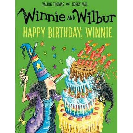 WINNIE WILBUR HAPPY BIRTHDAY WINNIE - Happy Halloween Winnie