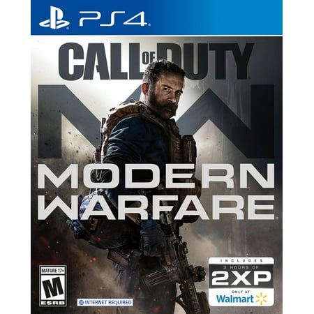 Call of Duty: Modern Warfare, PlayStation 4 – Get 3 Hours of 2XP with game purchase – Only at Walmart