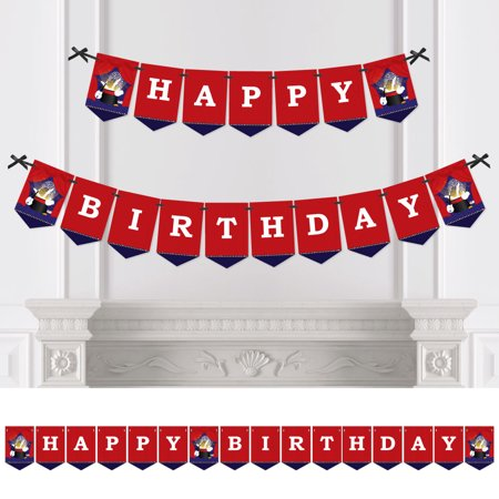 Magic - Birthday Party Bunting Banner - Magician Party Decorations - Happy Birthday