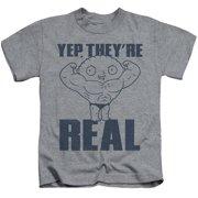 Family Guy - Real Build - Juvenile Short Sleeve Shirt - 5/6