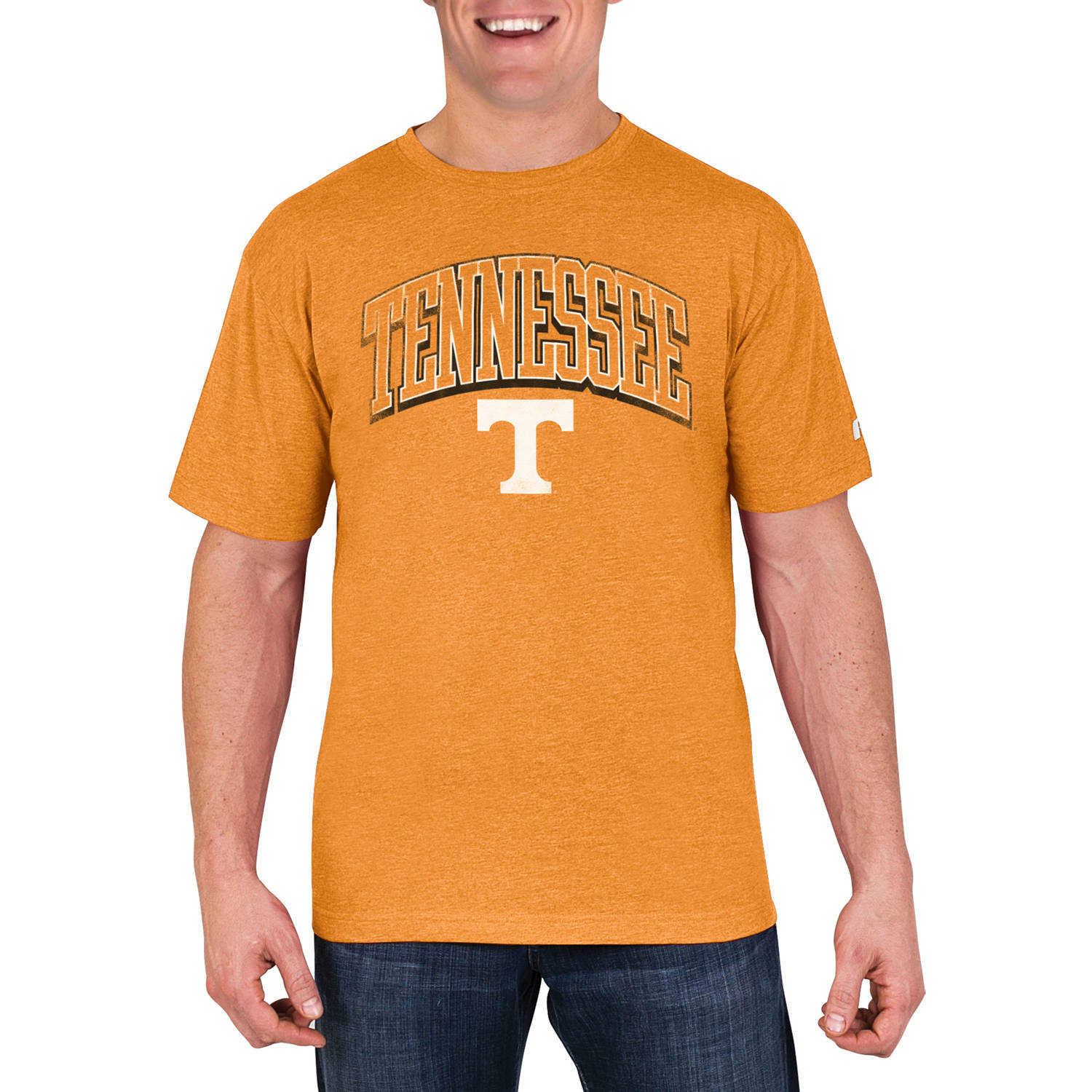 NCAA Tennessee Volunteers Men's Cotton/Poly Blend T-Shirt