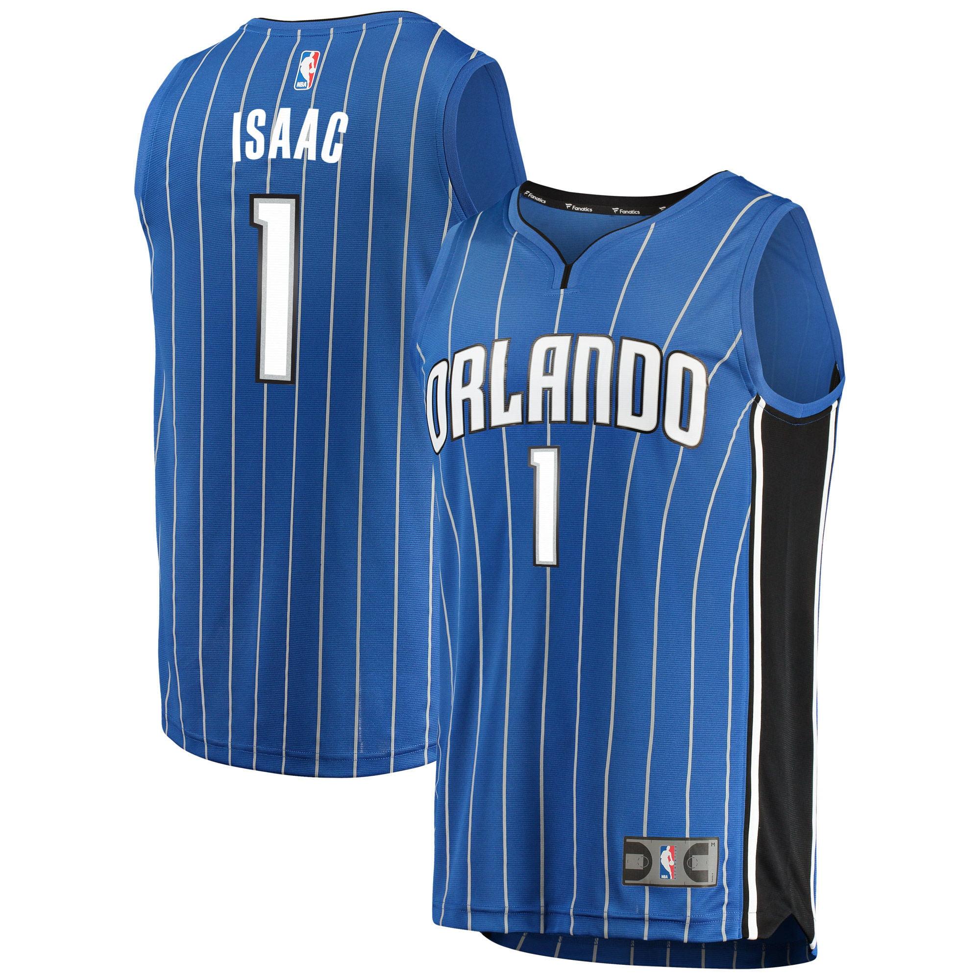 Jonathan Isaac Orlando Magic Fanatics Branded Fast Break Replica Jersey Blue - Icon Edition