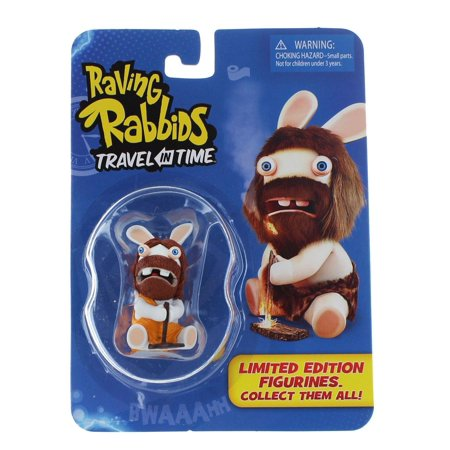 Raving Rabbids Travel in Time Caveman Collectible Figure](Stone Age Cavemen)