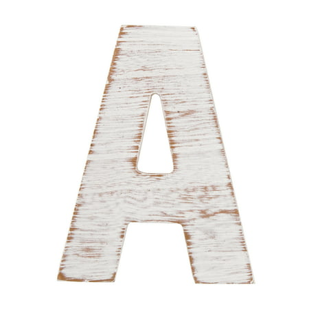 On the Surface Rustic Letter A by Horizon Group USA