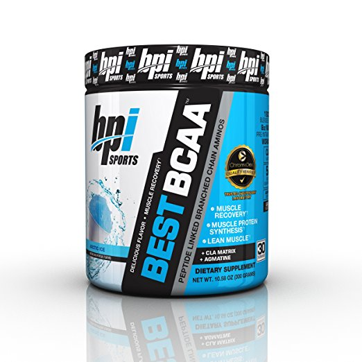 BPI Sports Best BCAA Powder, Artic Ice, 30 Servings