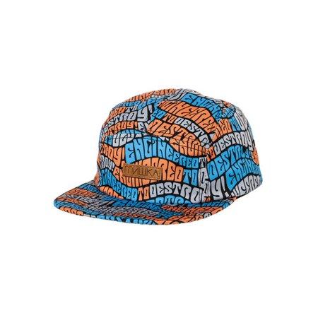 online store 674cd 6b311 Mishka Mens The Wave ETD 5 panel Baseball Cap white One Size - image 1 of  ...