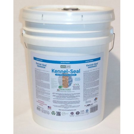 Kennel-Seal Five Gallon by Agra Life, Sealant for Wood, Concrete, & Metal ()