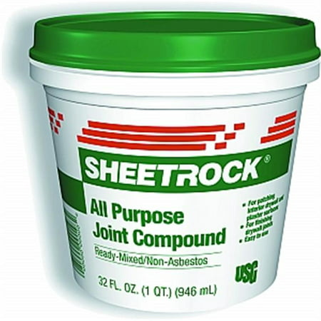 U S GYPSUM Joint Compound, Ready-To-Use, 1.75-Pt.