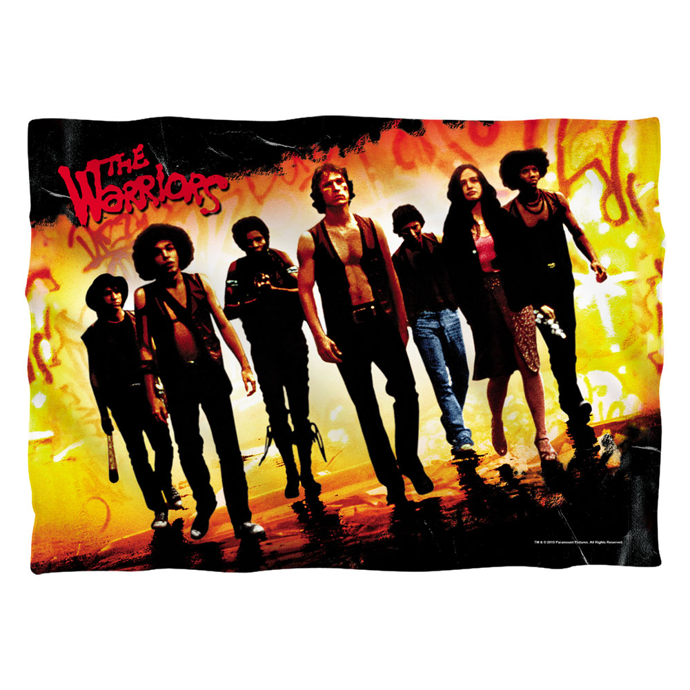 Warriors Walk Poly 20X28 Pillow Case White One Size
