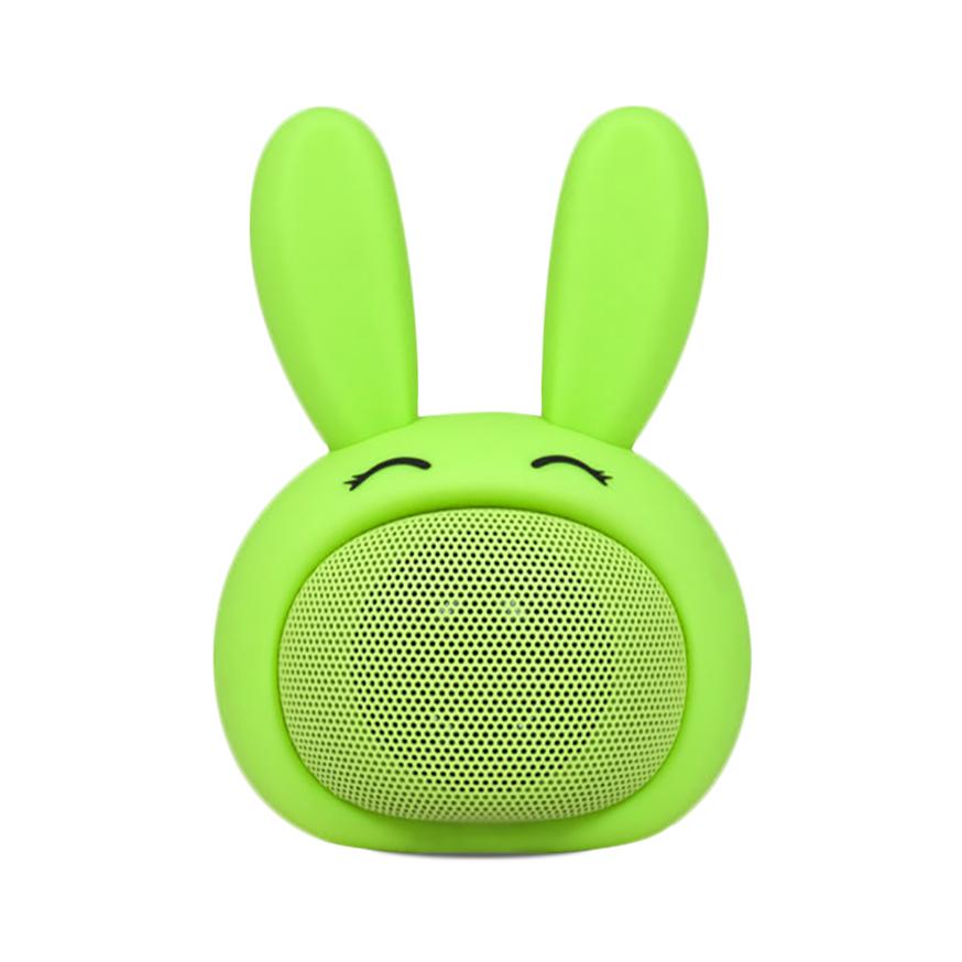 Compact iCute Bluetooth Wireless Speaker - Pink Rabbit