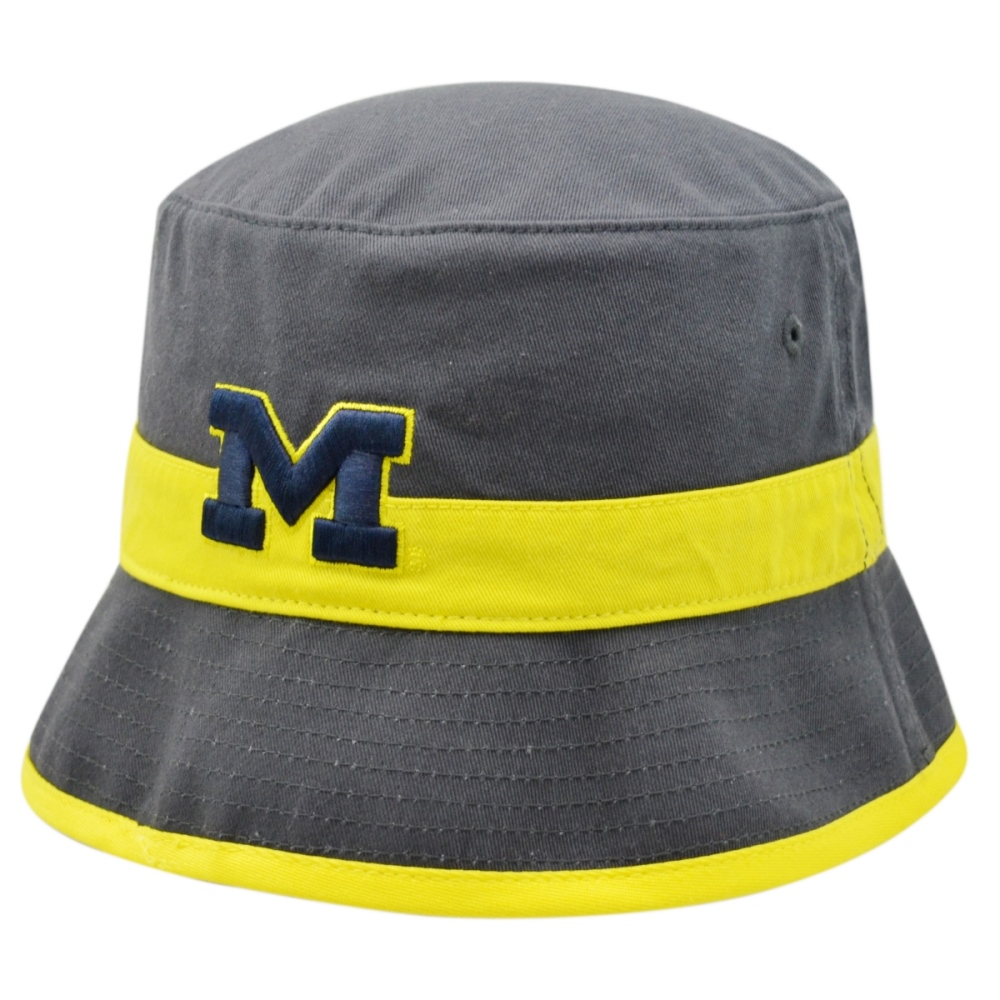 "Michigan Wolverines NCAA Top of the World ""Shuffle"" Bucket Hat"