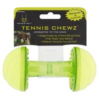Hyper Pet Tennis Chewz Barbell Interactive Dog Toy