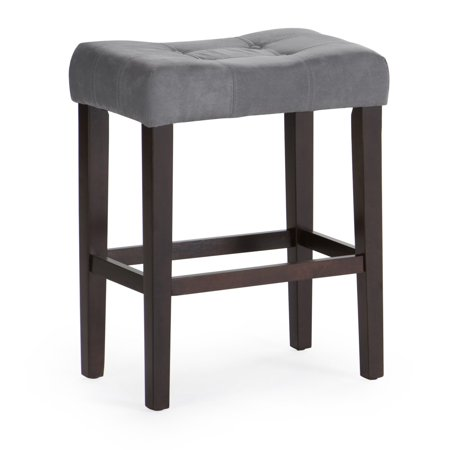 - Finley Home Palazzo 26 in. Saddle Counter Stool