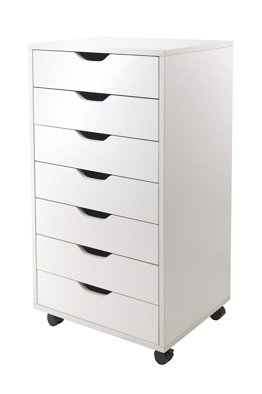 Winsome Halifax Cabinet For Closet/Office, 7 Drawers, White   Walmart.com