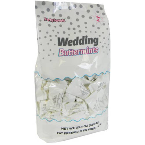 Party Sweets Wedding Buttermints, 23.4 oz