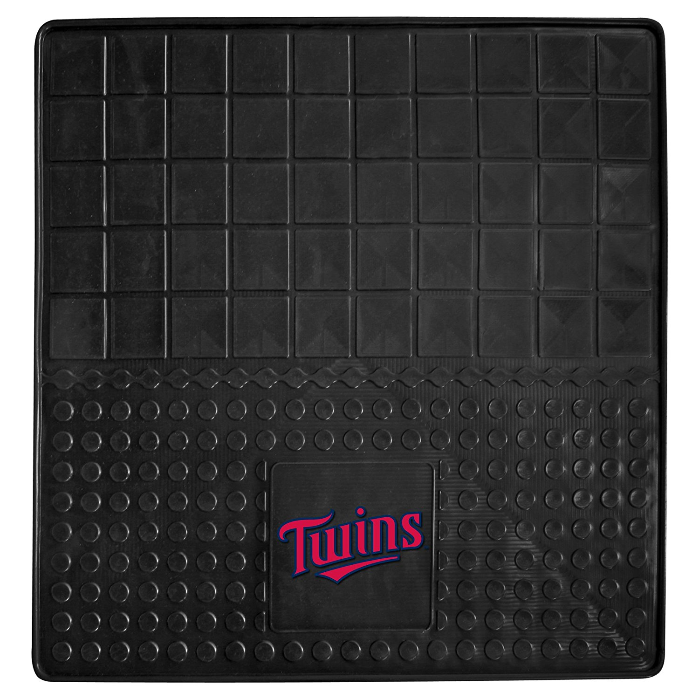 10877 MLB Minnesota Twins Vinyl Heavy Duty Cargo Mat, 100% heavy-duty vinyl construction adds durability By Fanmats