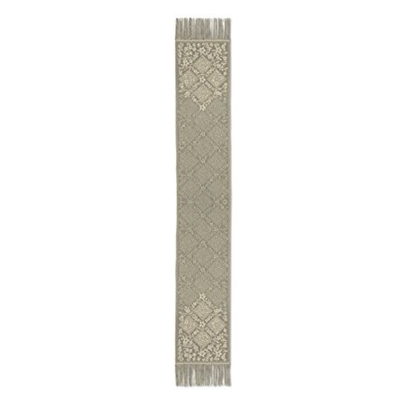 Heritage Lace Chantilly Table Runner, Gold, 14