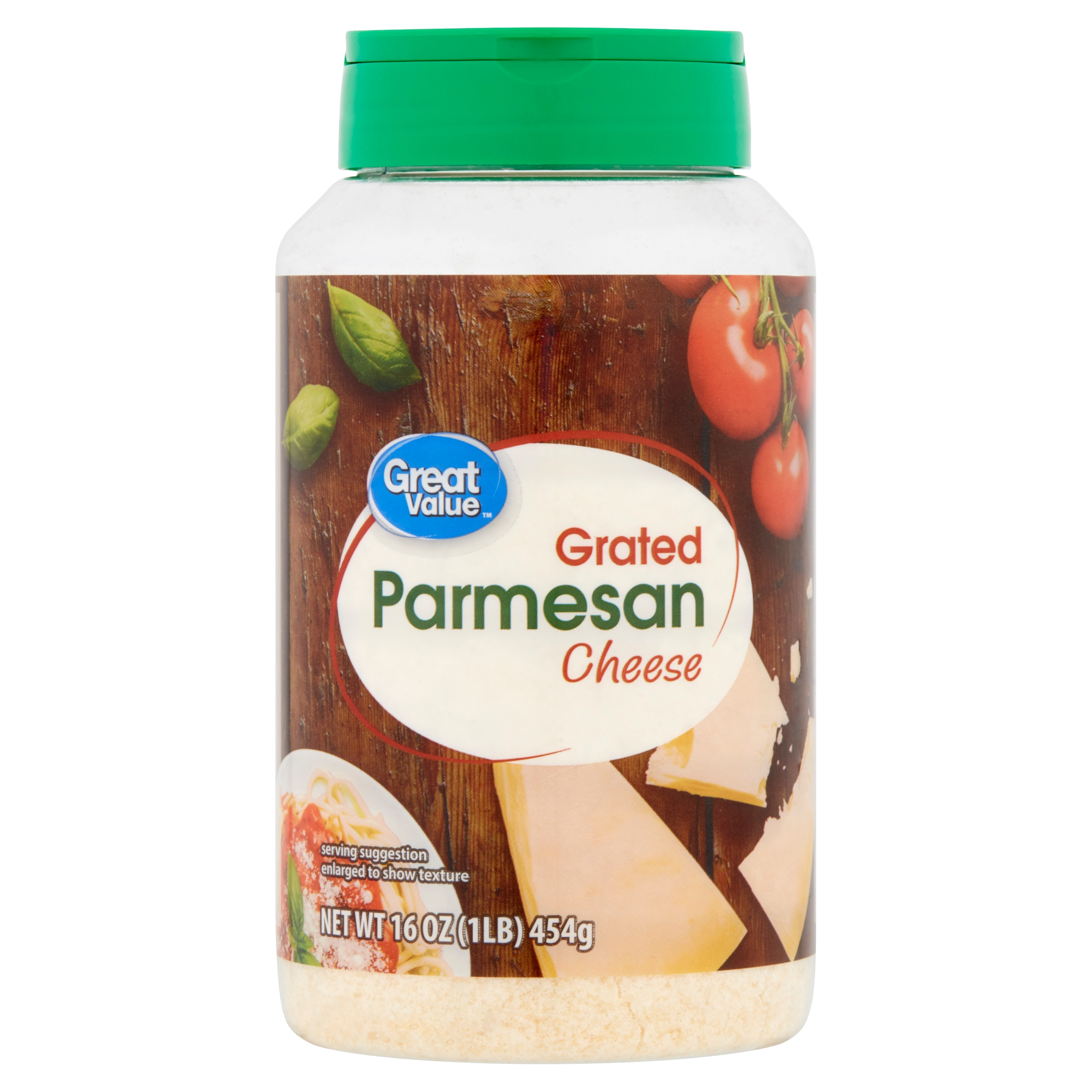 Great Value Grated Parmesan Cheese 16 Oz Walmart Com Walmart Com