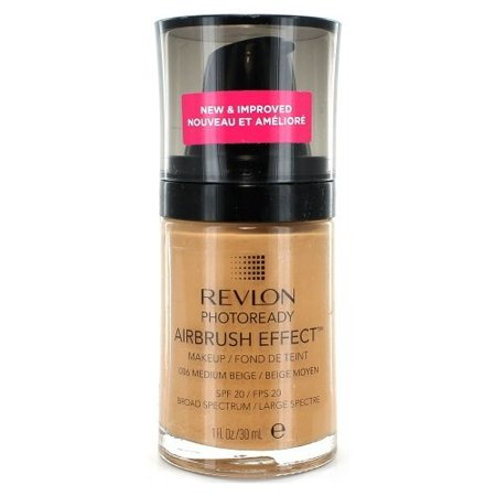 Effects Makeup - Revlon Photo Ready Airbrush Effect Makeup - Medium Beige - oz