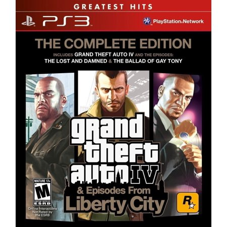 Grand Theft Auto IV: Complete (PS3)