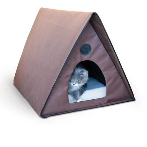 K&H Outdoor Multi-Kitty A-Frame (Heated or Unheated)
