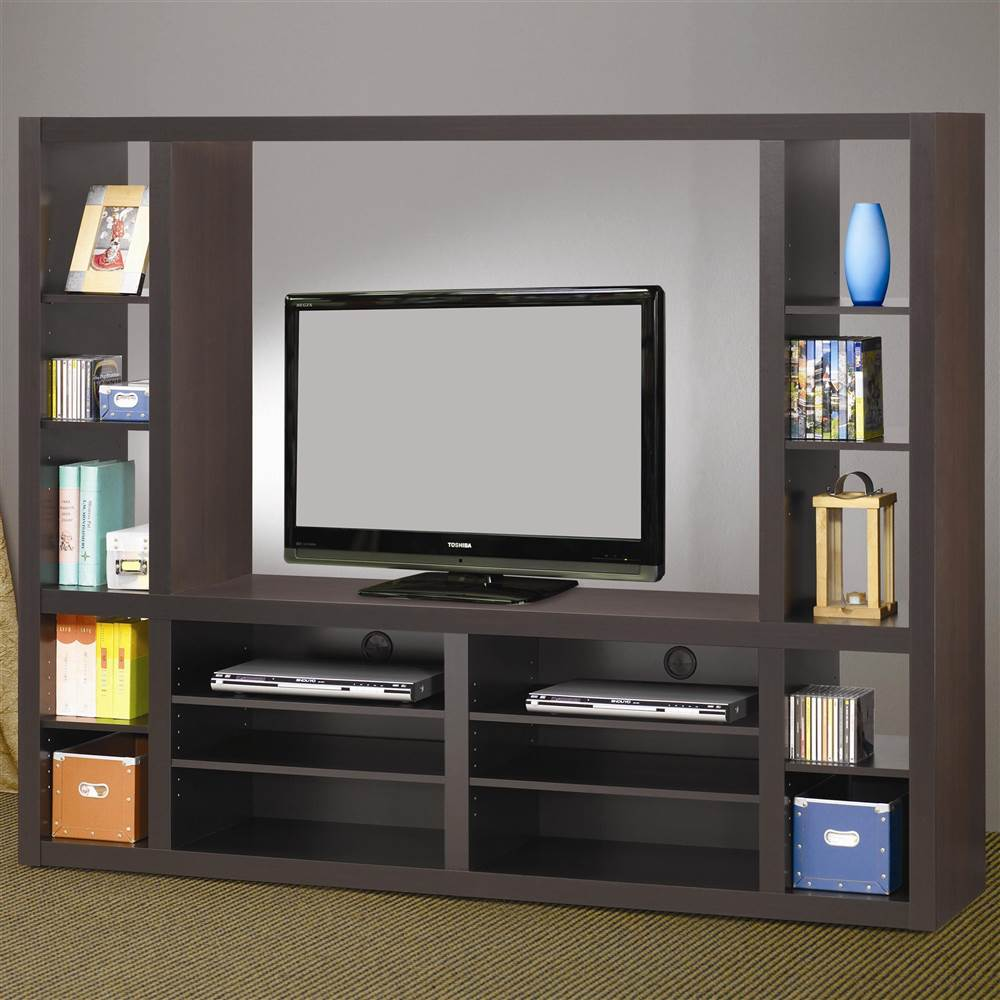 74.75 in. Entertainment Wall Unit
