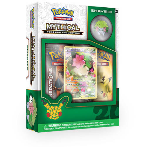 Pokemon Mythical Shaymin Pin Box