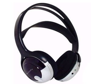 Unisar TV Listener J3 Infrared Extra Rechargeable Headset