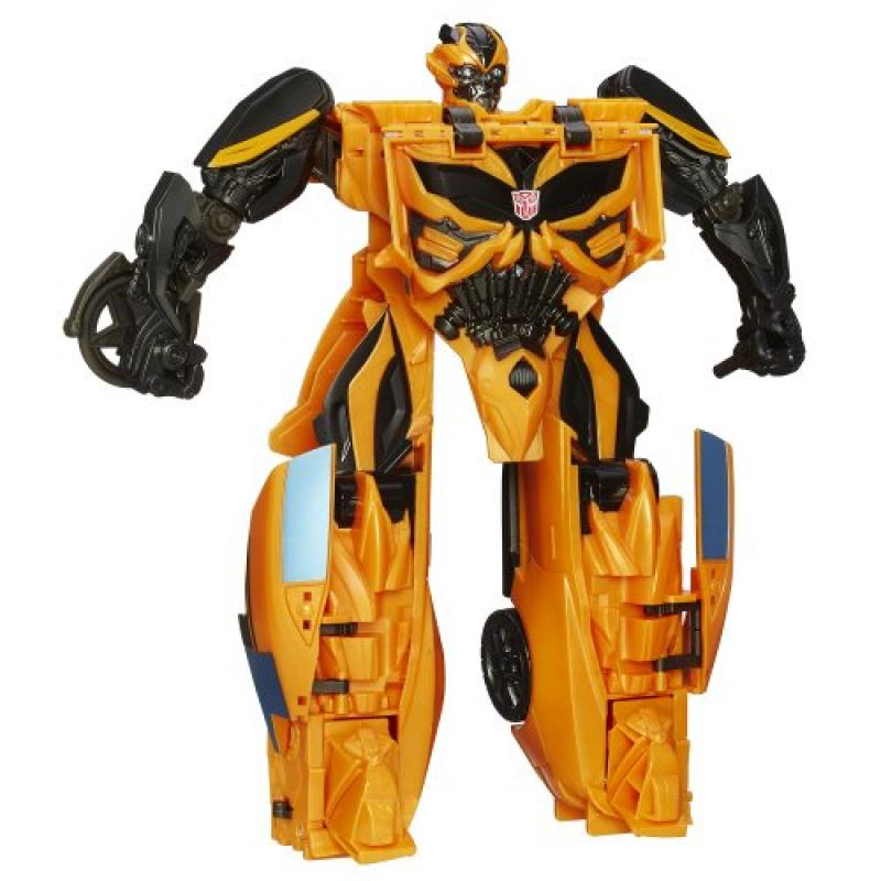Transformers Age of Extinction Mega 1-Step Bumblebee Figure