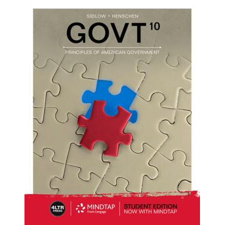 Govt (with Mindtap Political Science, 1 Term (6 Months) Printed Access