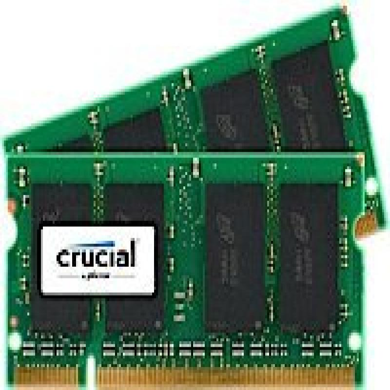 Crucial 4GB kit (2GBx2) Upgrade for a Dell Vostro 1500 Sy...