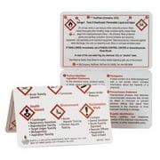 JJ KELLER Wallet Card,GHS,Eng,PK10 41036