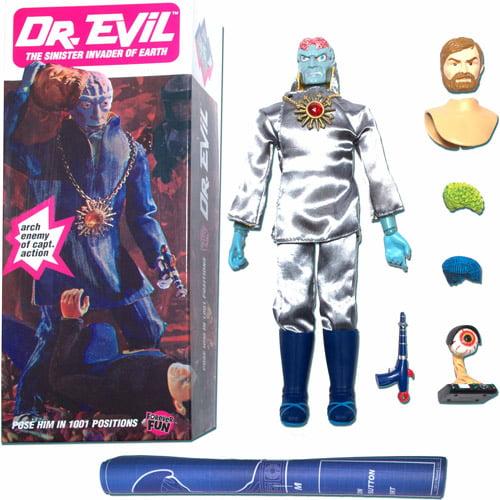 Round 2 Captain Action Dr. Evil Deluxe Action Figure ca1011/04