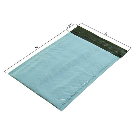 "25 Bags #0 6"" x 10"" Poly BUBBLE Mailers Padded Shipping Envelopes Plastic Self Sealing Mailing Bags 6x9 - Poly Plastic Bubble Mailers"