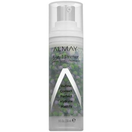 Almay 5-in-1 Primer to Refine, Correct, Perfect, Hydrate, Mattify - 1 fl oz