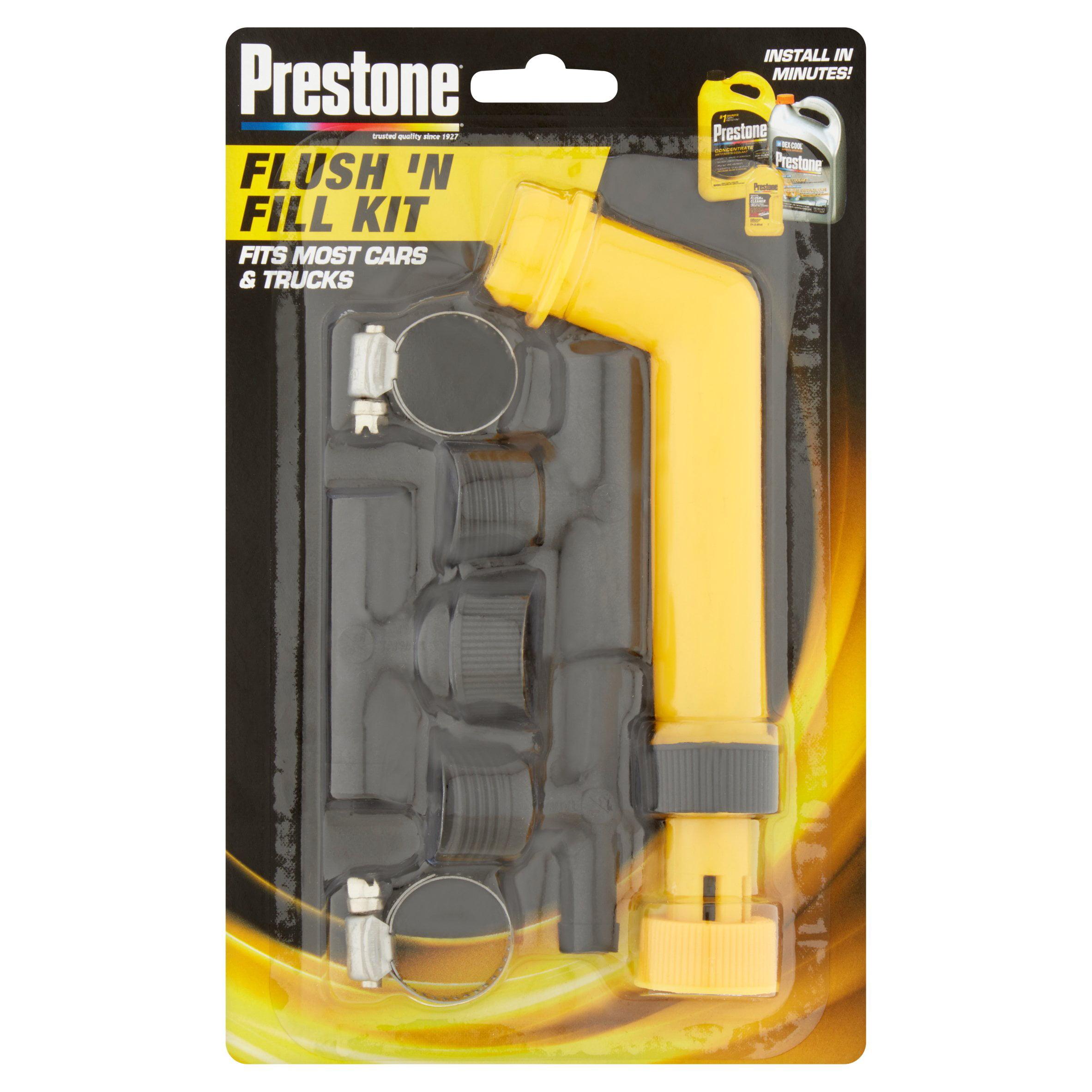 Prestone Flush N Fill Kit Walmart Com