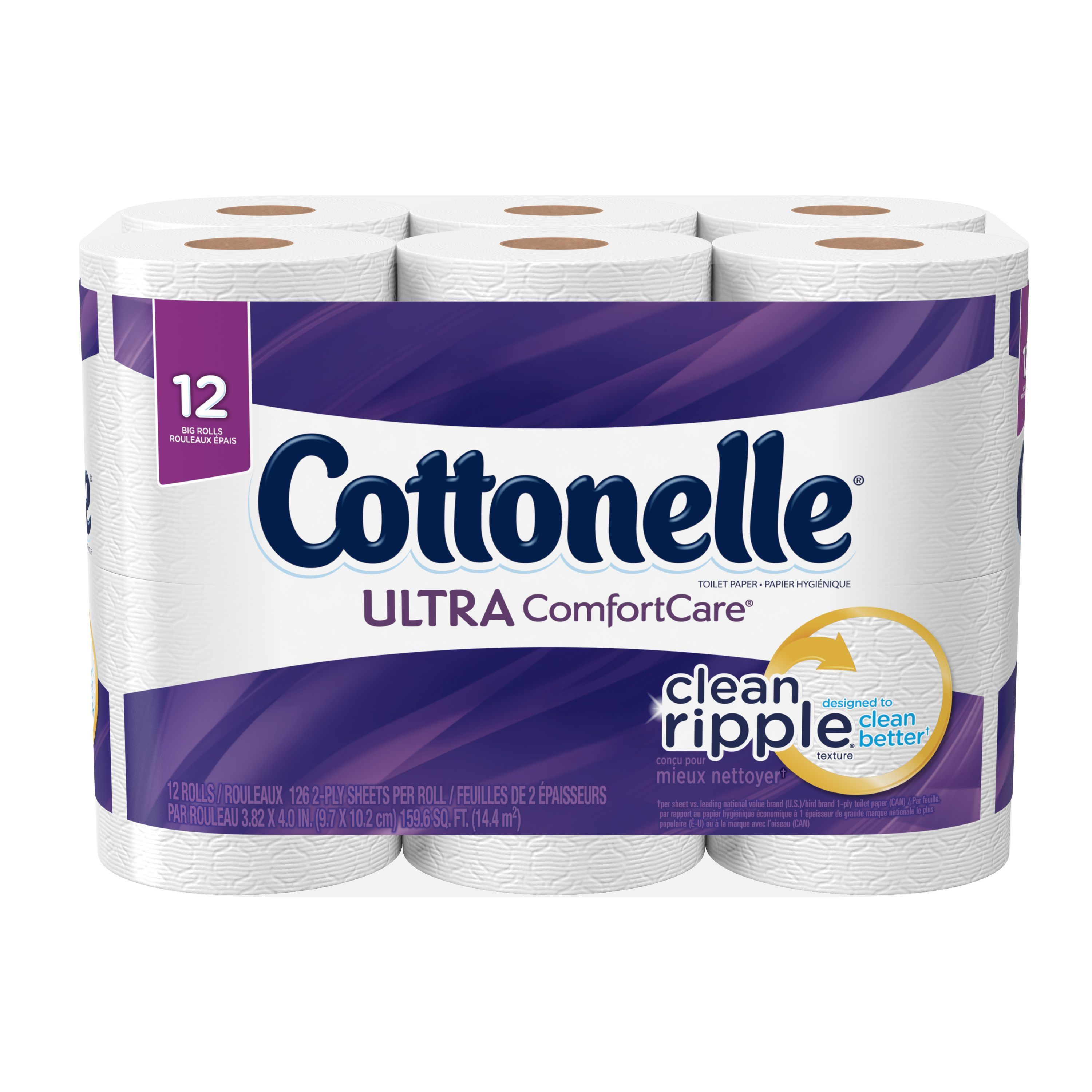 Cottonelle Ultra Comfort Care Big Roll Toilet Paper, 12 Count by KIMBERLY-CLARK